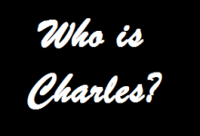 Who is Charles? – SPOILERS!